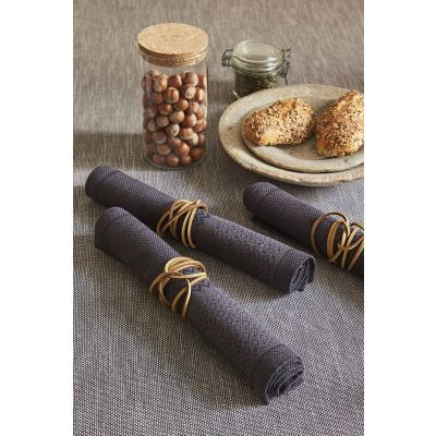 Slow Life Coated Placemat (set of 4)