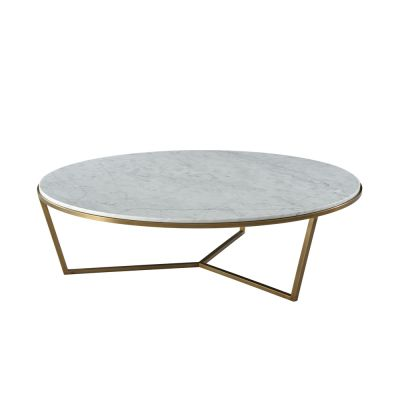 Carrera II Round Cocktail Table