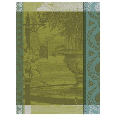 Jardin Parisien Tea Towel