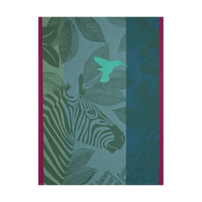 Zebra Family Tea Towel